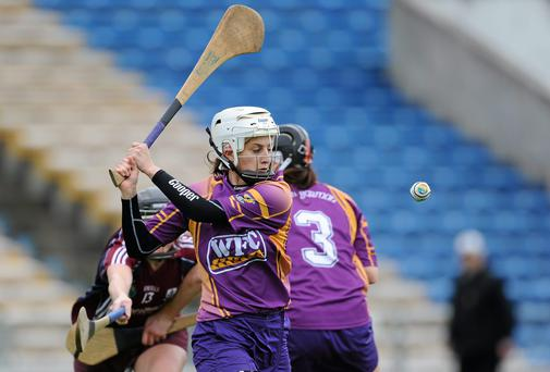 Wexford captain Mags D'Arcy