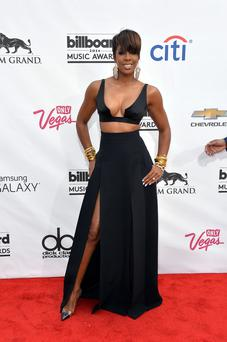 Singer Kelly Rowland attends the 2014 Billboard Music Awards at the MGM Grand Garden Arena