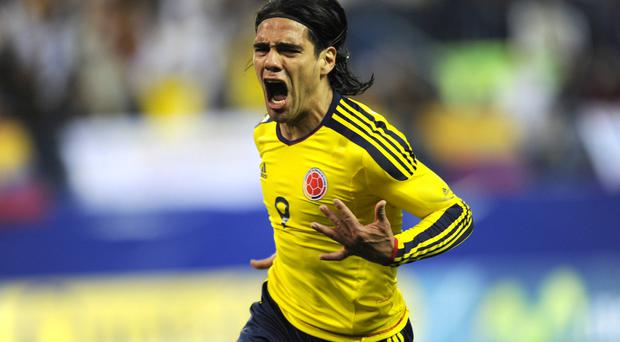 Falcao remains a huge injury concern for Colombia