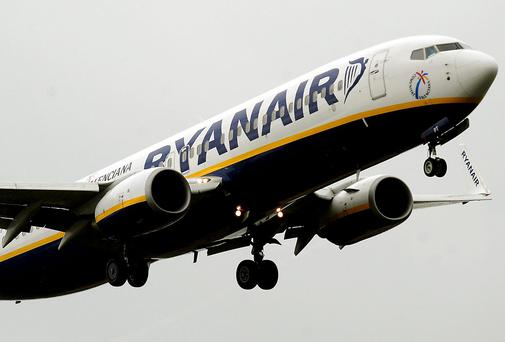 Ryanair still has not revealed what it will do with over €400m it received from the sale of its near 30pc stake in Aer Lingus. Photo: PA