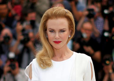 Nicole Kidman looked a little odd at the Cannes Film Festival last week.