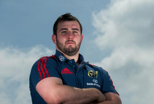 Munster's James Cronin