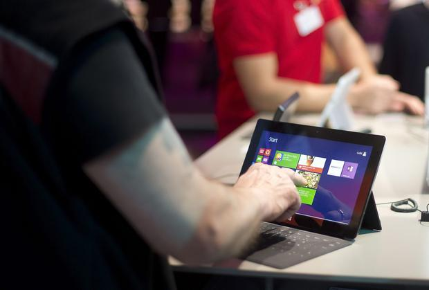 Microsoft is set to announce a rival to Apple's iPad Mini, as well as an updated version of its Surface tablet (pictured).
