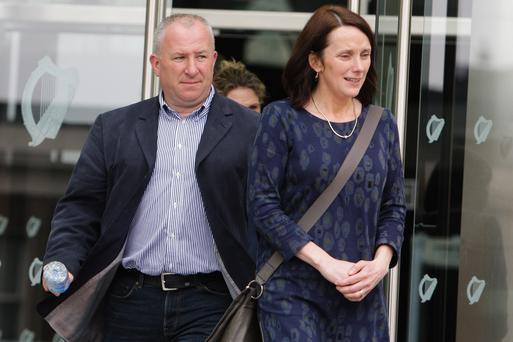 Adrian Ronan and his wife Mary