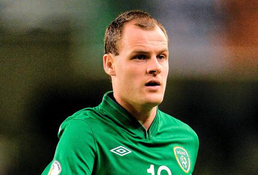 Republic of Ireland and Celtic player Anthony Stokes