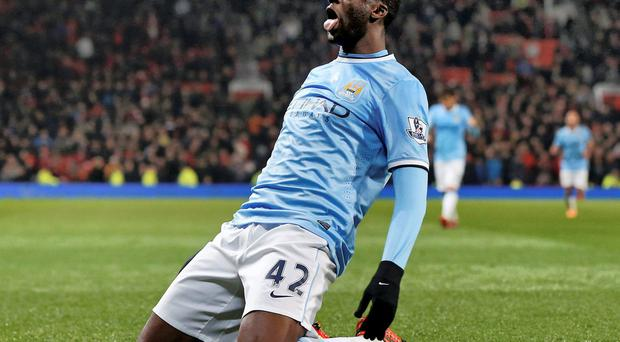 Yaya Toure played a key role in Manchester City's title triumph