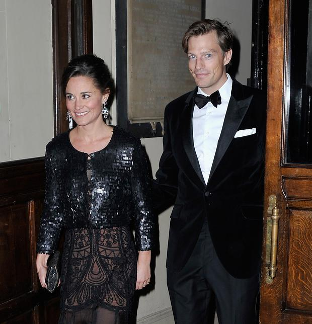 Pippa Middleton and boyfriend Nico Jackson