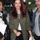 Barbara Palvin is seen arriving in Nice for the 67th Annual Cannes Film Festival