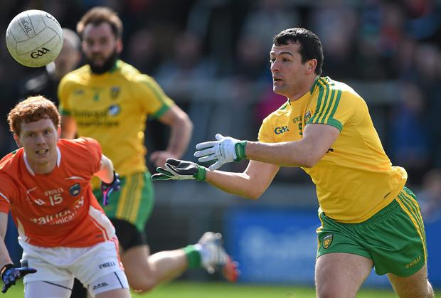 Frank McGlynn says Donegal are in 'good shape' ahead of the championship campaign beginning on Sunday. Photo: Brendan Moran / SPORTSFILE
