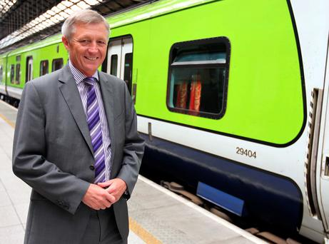 Irish rail CEO David Franks