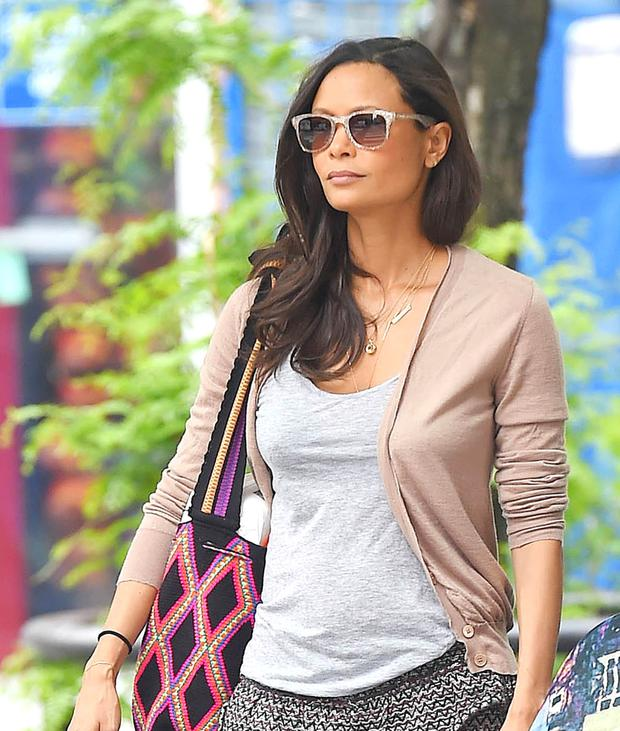 Actress Thandie Newton is seen on May 21, 2014 in New York City. (Photo by NCP/Star Max/GC Images)