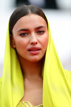 CANNES, FRANCE - MAY 21: Model Irina Shayk attends