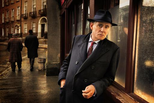 Programme Name: Quirke - TX: n/a - Episode: n/a (No. Generics) - Embargoed for publication until: n/a - Picture Shows: Quirke (GABRIEL BYRNE) - (C) BBC - Photographer: Steffan Hill