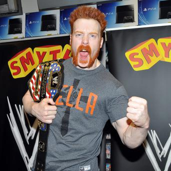 Irish WWE wrestling star Sheamus.