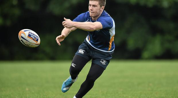 Luke McGrath in action during training with Leinster A at UCD. Photo: David Maher / SPORTSFILE