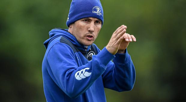 Girvan Dempsey's Leinster A team face Leeds Carnegie. Photo: David Maher / SPORTSFILE