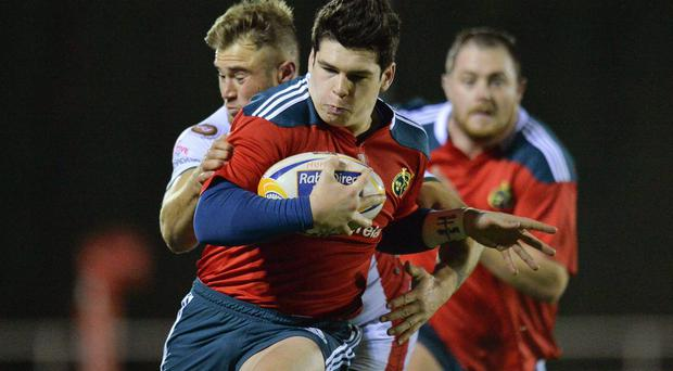 Alex Wootton in action for Munster 'A'