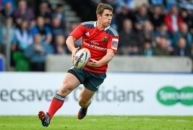 Munster's Ian Keatley has been called up to the upcoming Emerging Ireland tour