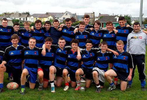 ISK Killorglin, winners of the West Munster Schools Junior Cup Final