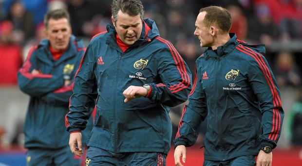 The time has almost come for Anthony Foley to take centre stage in Munster with Rob Penney's departure