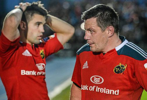 James Coughlan (right) is unlucky to have been overlooked by Joe Schmidt