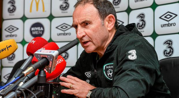 Martin O'Neill knows that Roy Keane's name will be linked with every managerial vacancy that becomes available. Photo: David Maher / SPORTSFILE