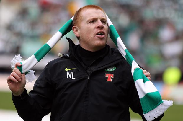 Neil Lennon will have an input in the appointment of his successor at Celtic, according to the club's website. Photo: Jeff J Mitchell/Getty Images