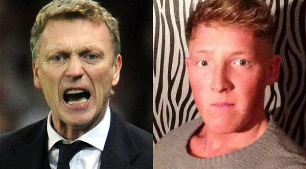 David Moyes (left) and Joshua Gillibrand