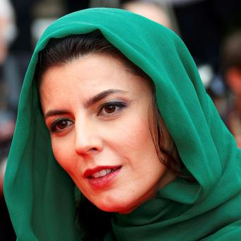 Leila Hatami at Cannes