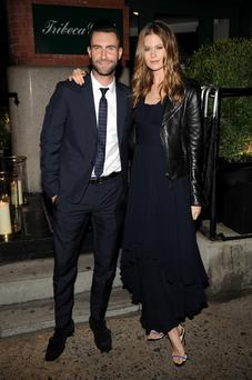 Musician Adam Levine and Behati Prinsloo