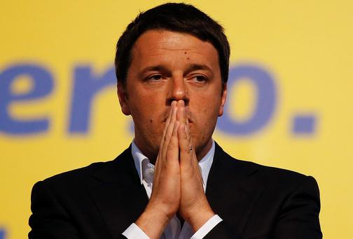 Italian Prime Minister and leader of Democratic Party Matteo Renzi. Reuters