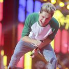 Niall Horan on stage with One Direction in concert at Croke Park, Dublin. Picture:Arthur Carron