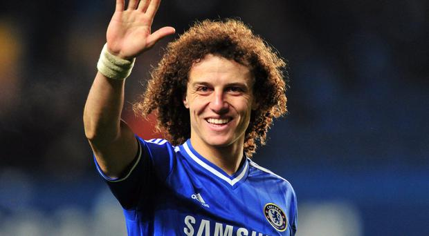 David Luiz looks set to wave goodbye to Chelsea with a £50million move to Paris Saint-Germain close to being agreed. Photo: GLYN KIRK/AFP/Getty Images
