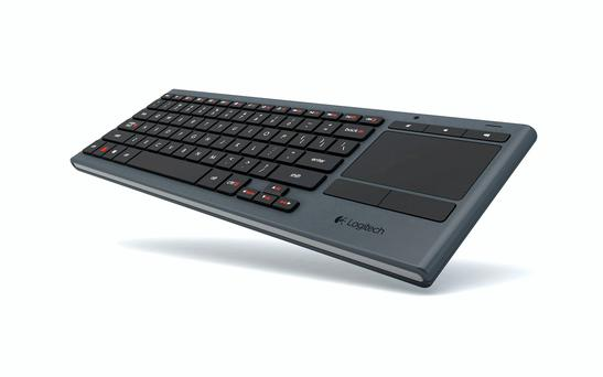 Logitech K830 smart keyboard