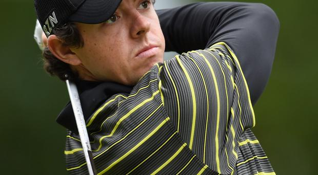 Northern Ireland's Rory McIlroy during day three of the BMW PGA Championships at Wentworth