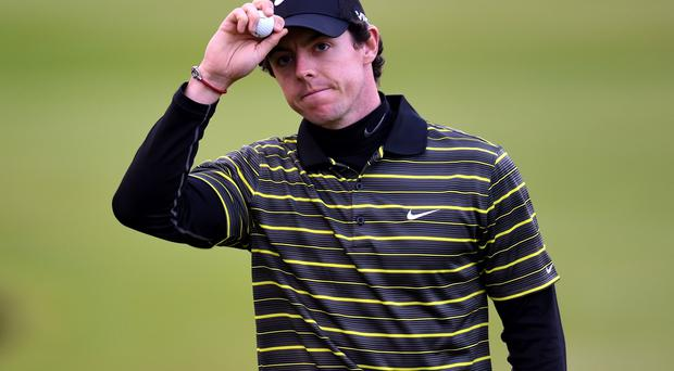 Northern Ireland's Rory McIlroy after completing his round during day three of the BMW PGA Championships at Wentworth