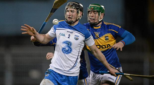 Barry Coughlan faces a tough test in the Waterford defence today. Photo: Brendan Moran / SPORTSFILE