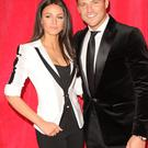 Michelle Keegan and Mark Wright attends the British Soap Awards at Hackney Empire