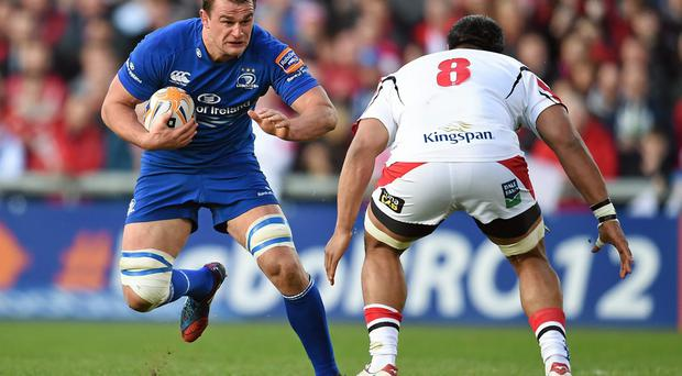 'A feature of Leinster's recent performances has been the contribution of Rhys Ruddock, and that fact is indicative of just where Leinster now find themselves.' Photo: Stephen McCarthy / SPORTSFILE