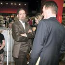 Luke 'Ming'Flanagan at the Counting of votes in the European Election in Castlebar today. Photo: Kyran O'Brien