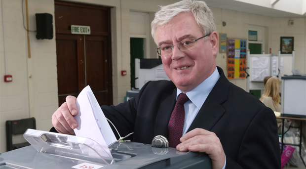 Labour leader Eamon Gilmore