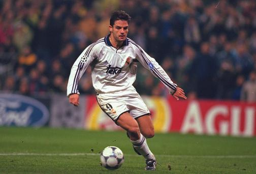 Fernando Morientes of Real Madrid