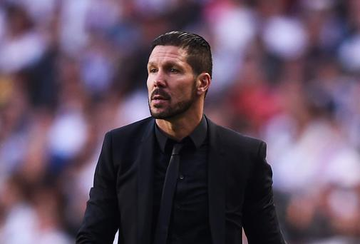 Diego Simeone, Coach of Club Atletico de Madrid