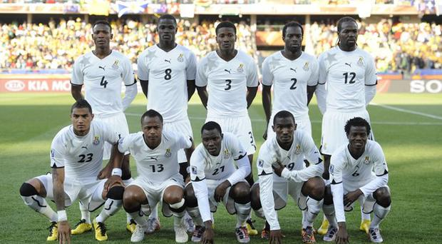 Ghana will look to repeat their impressive showing at the 2010 World Cup in 2010