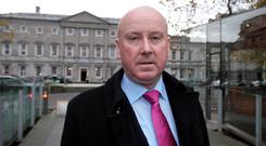 Senator John Whelan,Labour at Leinster House.Pic Tom Burke 15/11/12