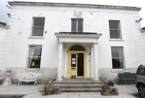 The contents of roebuck Hill House, pictured, formerly owned by J.J Flemings family will be sold in an auction held by Matthews Auction Rooms this Wednesday. Picture: Damien Eagers 26/5/2014