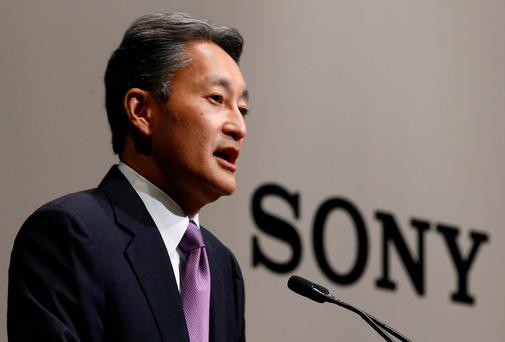 Sony chief Executive Officer Kazuo Hirai