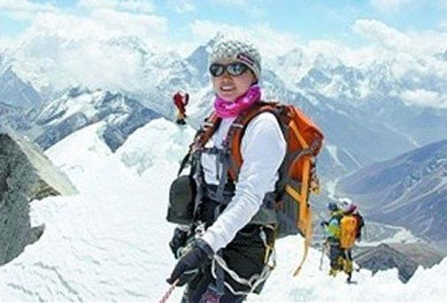 Wang Ying: defied a strike by Sherpas in Everest climb