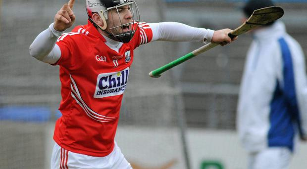 Paudie O'Sullivan in action for Cork