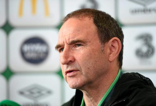 Republic of Ireland manager Martin O'Neill. Picture credit: Matt Browne / SPORTSFILE